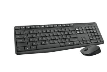 Беспроводной комплект Logitech Wireless Desktop Combo MK235 Grey Retail
