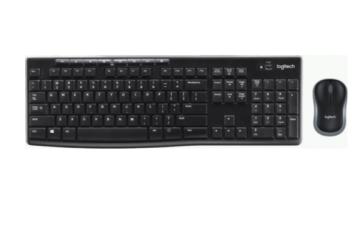 Беспроводной комплект Logitech Wireless Combo MK270 Retail