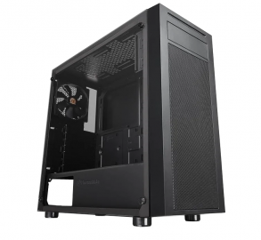 Корпус Thermaltake Versa J22 Tempered Glass Edition /Black CA-1L5-00M1WN-00