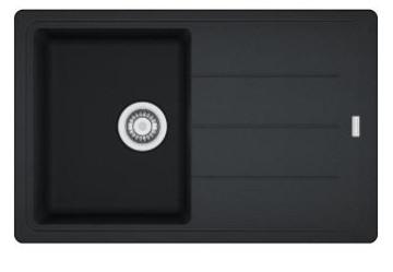 Врезная кухонная мойка Franke Basis BFG 611 (onyx)