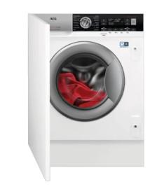 Встраиваемая стиральная машина с сушкой AEG L8WBE68SI