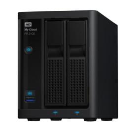 Сетевой накопитель WD My Cloud Pro PR2100 0TB (WDBBCL0000NBK)