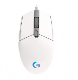 Игровая мышь Logitech G102 LIGHTSYNC White USB