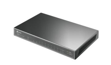 Коммутатор TP-LINK TL-SG1210P 10-портовый гигабитный настольный коммутатор с 8 портами PoE+