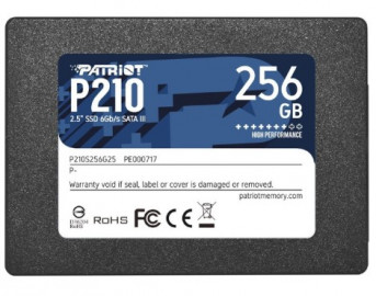 Твердотельный накопитель Patriot Memory 256 GB P210S256G25