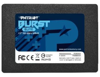 Твердотельный накопитель Patriot Memory Burst Elite 240 GB PBE240GS25SSDR