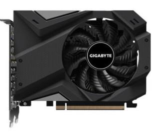 Видеокарта GIGABYTE GeForce GTX1650 4096Mb D6 OC (GV-N1656OC-4GD)