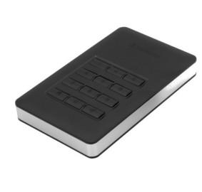 """Внешний жёсткий диск 1000GB Verbatim 2, 5"""" (FINGERPRINT SECURE 256-bit AES ENCRYPTION) USB 3.1 с функциями защиты и доступа с помощью отпечатка пальца"""