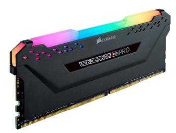 Оперативная память Corsair Vengeance RGB PRO 8Gb bulk black CM4X8GF2666C16W4