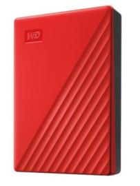 """Жесткий диск внешний 2Tb 2.5"""" USB3.0 WD My Passport красный [WDBYVG0020BRD-WESN]"""