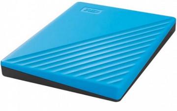 """Жесткий диск внешний 2Tb 2.5"""" USB3.0 WD My Passport синий [WDBYVG0020BBL-WESN]"""