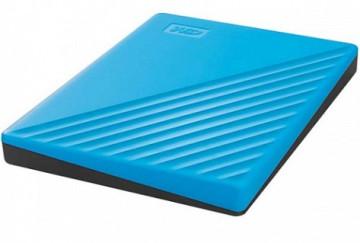 """Жесткий диск внешний 4Tb 2.5"""" USB3.0 WD My Passport синий [WDBPKJ0040BBL-WESN]"""