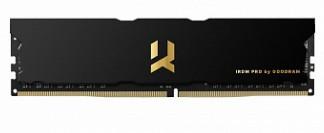 Оперативная память DDR4 8Gb 4000MHz GOODRAM Iridium Pro Black с радиатором IRP-4000D4V64L18S/8G