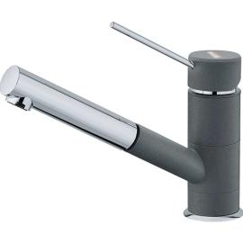 Однорычажный смеситель для кухни (мойки) Franke Sirius Top 649 (хром-графит)