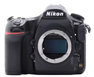 Фотоаппарат NIKON D850 Body / black [VBA520AE]
