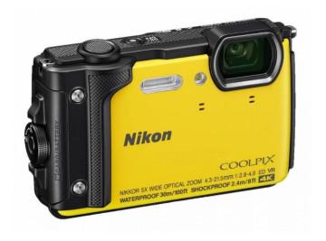Цифровая камера NIKON Coolpix w300 Yellow