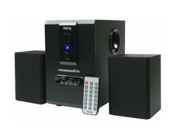 Акустические колонки Dialog AP-150 BLACK 2.1, 5W+2*2, 5W RMS, USB+SD reader
