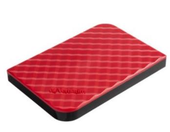 "Внешний жёсткий диск 1000GB Verbatim 2, 5"" (RED) USB 3.0"