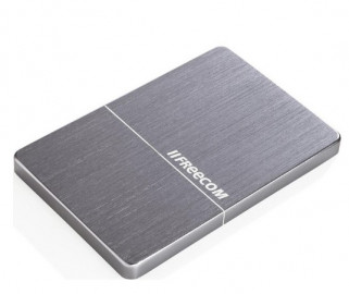 """Внешний жёсткий диск 1000GB Freecom 2, 5"""" (mHDD Mobile Drive Metal slim Space Grey) USB 3.0"""