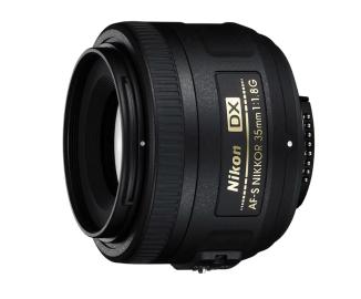 Объектив Nikon AF-S 35 mm f/1,8 G DX Nikkor
