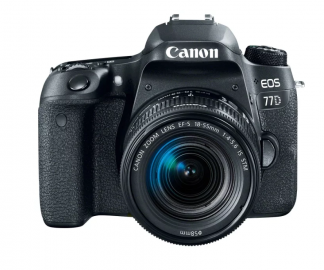 Фотоаппарат Canon EOS 77D kit (18-55 mm IS STM)