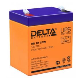 Аккумуляторная батарея HR 12-21 W Delta