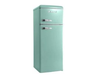 Холодильник Snaige FR24SM-PRDL0E Retro бирюза/серебро