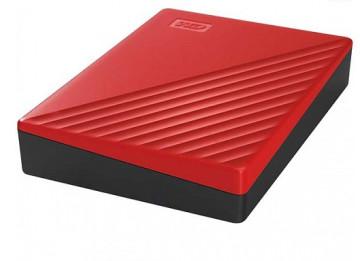 Внешний жесткий диск WD 4TB My Passport красный