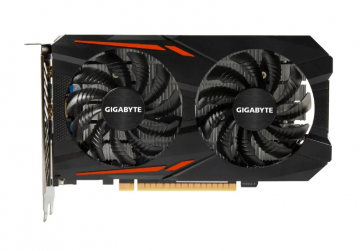Видеокарта Gigabyte GeForce GTX 1050 Ti OC [GV-N105TOC-4GD]