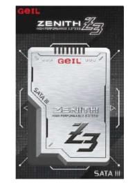 """Твердотельный накопитель SSD2.5"""" 256Gb GEIL Zenith Z3 ( GZ25Z3-256GP )"""
