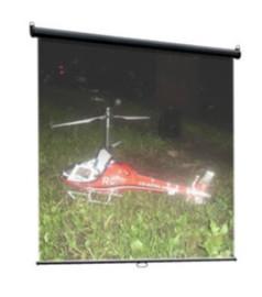 Экран настенный Classic Scutum 160x160 (W160x160/1MW-LS/T)