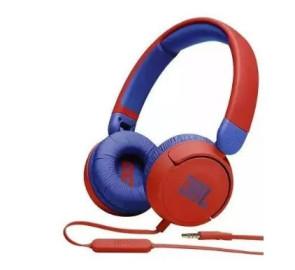 Беспроводные наушники с микрофоном JBL JR310 Red