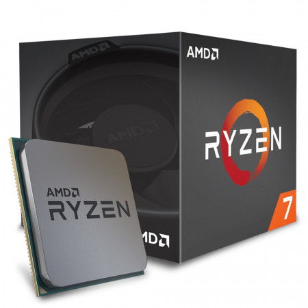 Процессор AMD Ryzen 7 1700 Summit Ridge BOX