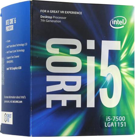 Процессор Intel Core i5-7500 BOX