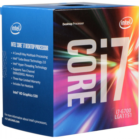Процессор Intel Core i7-6700 BOX