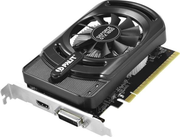 Видеокарта Palit GeForce GTX 1650 Storm X 4GB