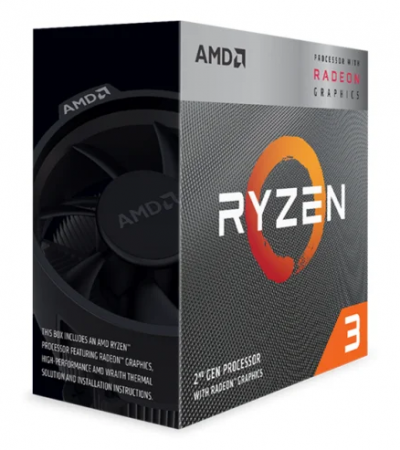 Процессор AMD Ryzen 3 3200G AM4 (YD3200C5M4MFH) OEM