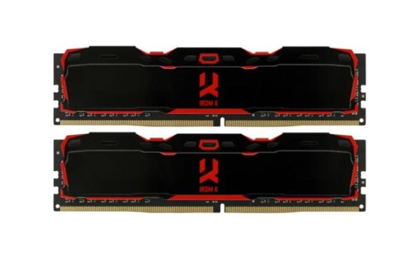 Оперативная память 8 GB 2 шт. GoodRAM IRDM X IR-X2666D464L16S/16GDC