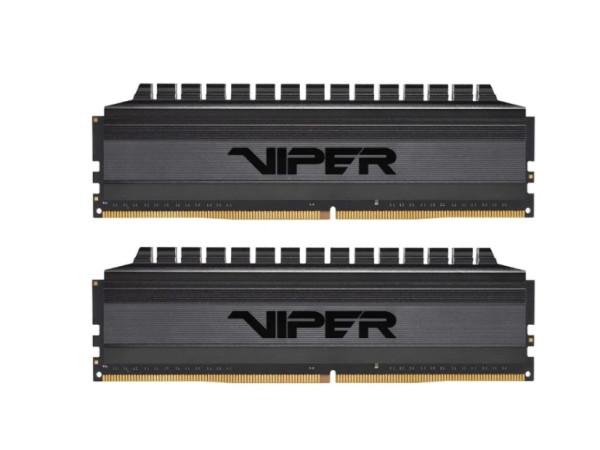 Оперативная память 8 GB 2 шт. Patriot Memory VIPER 4 BLACKOUT PVB416G300C6K
