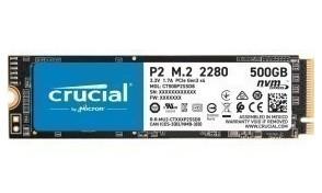 Твердотельный накопитель SSD M.2 500Gb Crucial P2 ( CT500P2SSD8 )