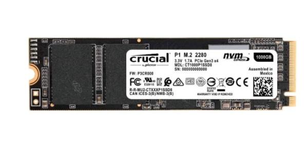 Твердотельный накопитель Crucial 1000 GB (CT1000P1SSD8)