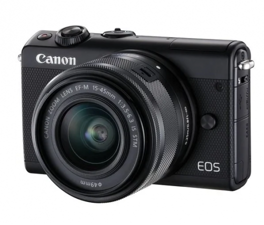 Фотоаппарат Canon EOS M100 kit + EF-M 15-45 мм f/3.5-6.3 IS RUK (BLACK)