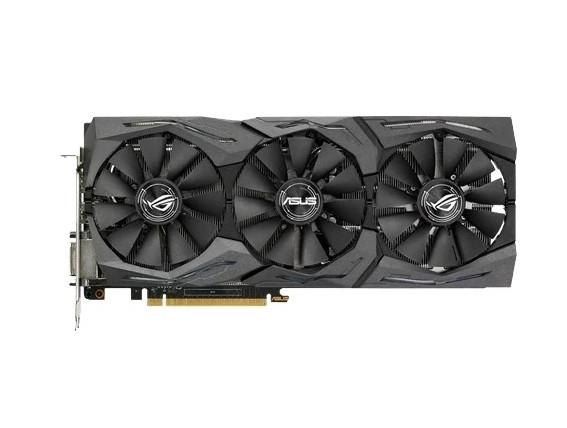 Видеокарта ASUS ROG GeForce GTX 1070 1582MHz PCI-E 3.0 8192MB 8008MHz 256 bit DVI 2xHDMI 2xDisplayPort HDCP STRIX GAMING OC