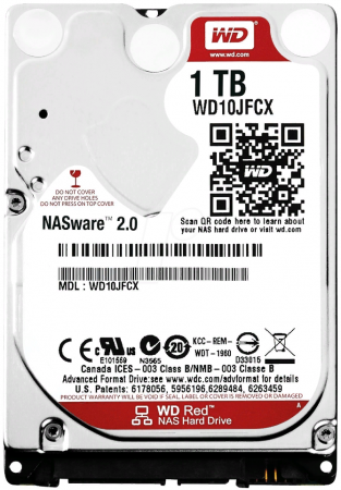 Жесткий диск WD WD10JFCX Red 1TB 2,5