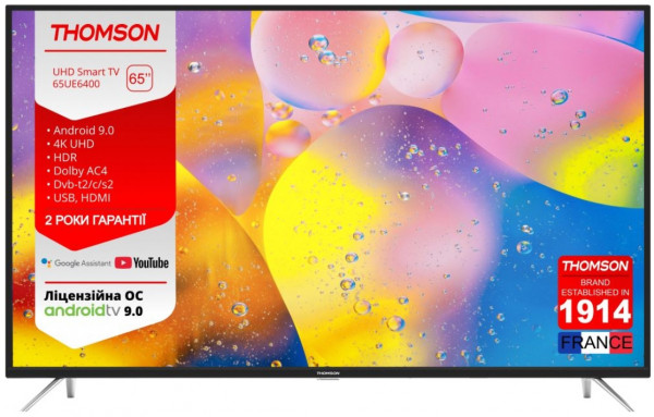 Телевизор THOMSON 65UE6400