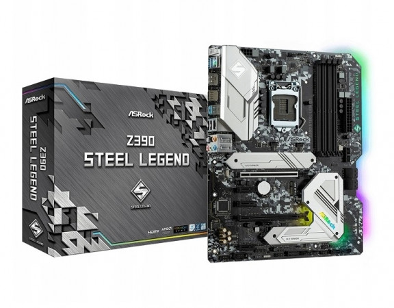 Материнская плата ASRock Z390 Steel Legend