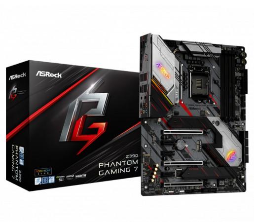 Материнская плата ASRock Z390 Phantom Gaming 7