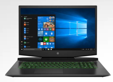 Ноутбук HP Pav Gaming Laptop17-cd0017nc