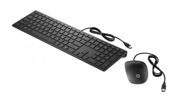 Комплект клавиатура+мышь НР Wired Combo Pavilion 400 Black (4CE97AA)