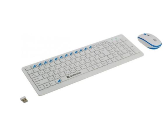 Беспроводной комплект Defender Skyline 895 RU,белый,мультимедийный